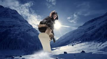 På ski i Alpe d'Huez