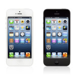 To smartphones- hvid og sort iphone
