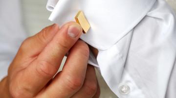 Manchetknapper i guld - smykker til mænd